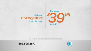 AT&T Digital Life Smart Security TV Spot, 'Protect & Manage Your Home' - Thumbnail 3