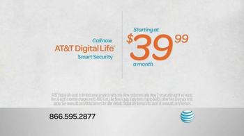 AT&T Digital Life Smart Security TV Spot, 'Protect & Manage Your Home' - Thumbnail 5