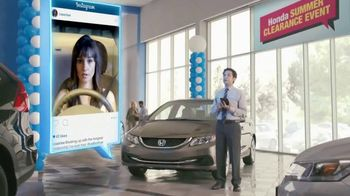 Honda Summer Clearance Event: 2015 Civic LX TV Spot, Long Relationship