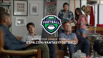 ESPN Fantasy Football TV Spot, 'Why You Should Mock Draft'