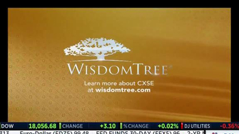 WisdomTree TV Spot, 'China: CXSE'