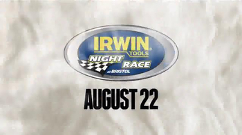Irwin Tools TV Spot, 'Night Race at Bristol' Featuring Dale Earnhardt Jr. - Thumbnail 8