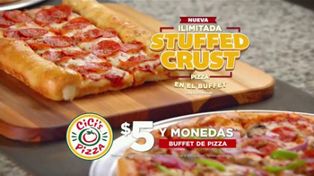 CiCi's Stuffed Crust Pizza TV Spot, 'Sueña' canción Gary Wright [Spanish] - Thumbnail 6