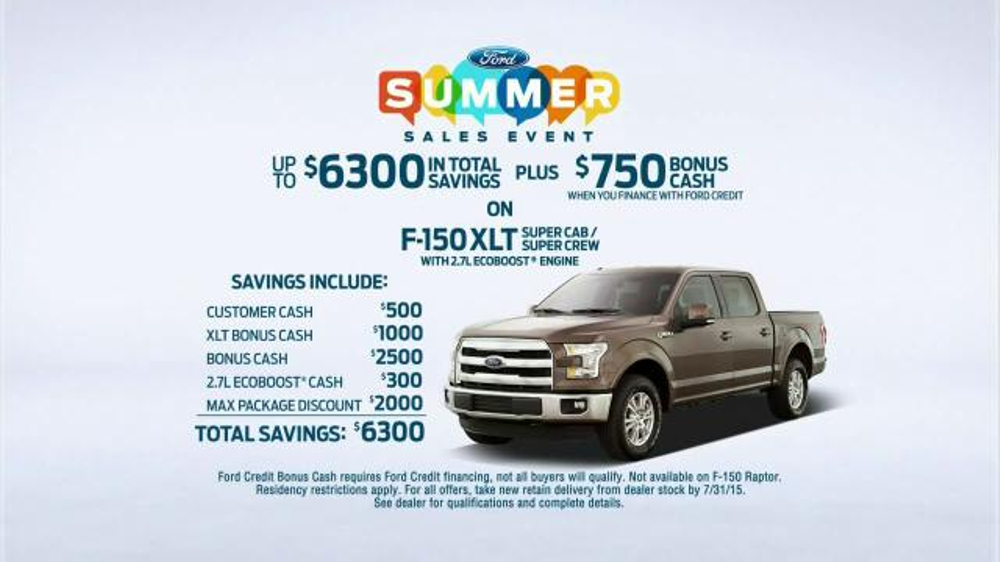 Ford Summer Sales Event TV Commercial, 'Can't Stop Talking' Song by Neon  Trees - Video