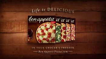 Bon Appétit Pizza TV Spot, 'Time for Each Other' - Thumbnail 8
