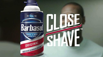 Barbasol Original Shaving Cream TV Spot, 'Drapes' - Thumbnail 7
