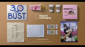 Paper and Packaging Board TV Spot, 'Getting to #30'