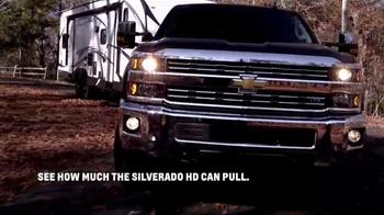 Chevrolet Silverado TV Spot, 'Pull' Featuring Michael Waddell - Thumbnail 4