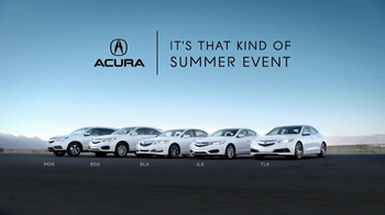 Acura It's That Kind of Summer Event TV Spot, 'Drop Everything'