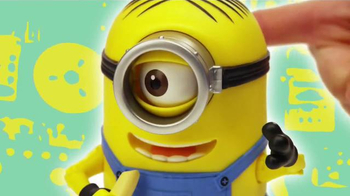 Minions Deluxe Action Figures TV Spot, 'Unexpected' - Thumbnail 4