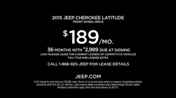 2015 Jeep Cherokee TV Spot, 'Emerald City' - Thumbnail 6