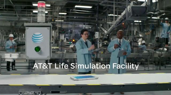 AT&T TV Spot, 'Samsung Galaxy S6 Active: Life Simulation Facility' - 297 commercial airings