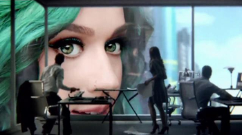 CoverGirl Super Sizer Mascara TV Spot, 'Giant Katy Perry' - Thumbnail 2