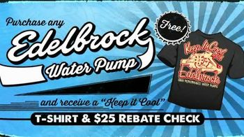 Edelbrock Water Pump TV Spot, 'Keep it Cool'