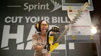 Sprint Cut Your Bill in Half TV Spot, 'How Much Will You Save?'