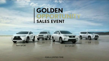 Lexus Golden Opportunity Sales Event TV Spot, 'Venture Further' - Thumbnail 9