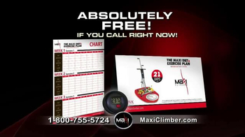MaxiClimber TV Spot, 'Fitness Program Breakthrough' - Thumbnail 6