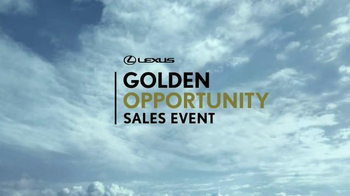 Lexus Golden Opportunity Sales Event TV Spot, 'Everyday Thrills' - Thumbnail 1