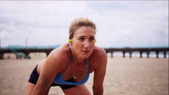 Jaybird Wireless Buds TV Spot, 'Volleyball' Featuring Kerri Walsh Jennings - 38 commercial airings