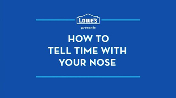 Lowe's TV Spot, 'Nose Test' - Thumbnail 1