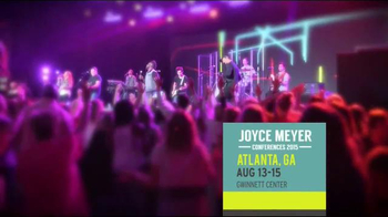 2015 Joyce Meyer Ministries Conferences TV Spot, 'Inspiring' - 18 commercial airings