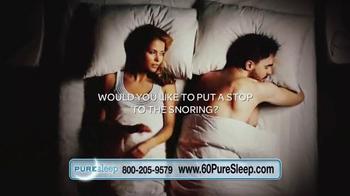 PureSleep TV Spot, 'Bad Snoring'