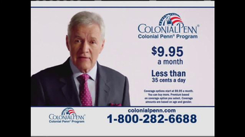 Colonial Penn TV Spot, 'Question For You' Featuring Alex Trebek - 150 commercial airings