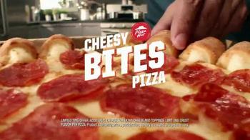 Pizza Hut Cheesy Bites TV Spot, 'Crust Flavors' - Thumbnail 8