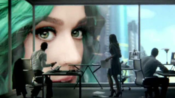 CoverGirl Super Sizer Mascara TV Spot, 'La gigante Katy Perry' [Spanish] - 310 commercial airings