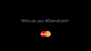 MasterCard TV Spot, 'Priceless Causes: Who Do You Stand Up 4?' - Thumbnail 4