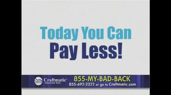 Craftmatic TV Spot, 'Pay Less' - Thumbnail 2
