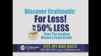 Craftmatic TV Spot, 'Pay Less' - Thumbnail 9