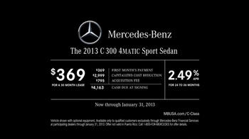 2013 Mercedes-Benz C 300 TV Spot, 'Ice Drifting' - Thumbnail 10