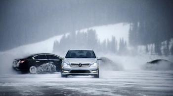 2013 Mercedes-Benz C 300 TV Spot, 'Ice Drifting' - Thumbnail 7