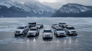 2013 Mercedes-Benz C 300 TV Spot, 'Ice Drifting' - 270 commercial airings