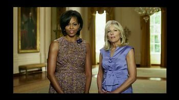 Joining Forces TV Spot Featuring Michelle Obama