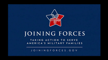 Joining Forces TV Spot Featuring Michelle Obama - Thumbnail 5