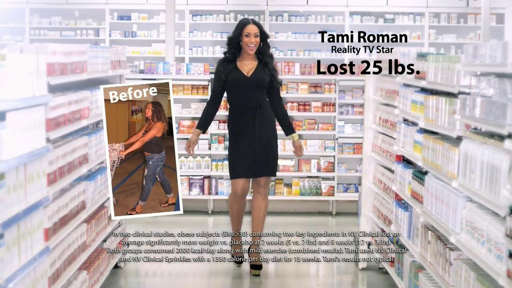 NV Clinical TV Commercial Featuring Tami Roman