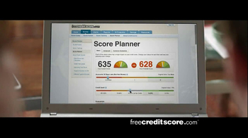 FreeCreditScore.com Score Planner TV Spot, 'Guacamole Tub' - Thumbnail 4