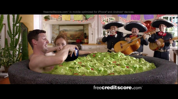 FreeCreditScore.com Score Planner TV Spot, 'Guacamole Tub' - Thumbnail 9