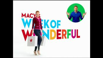 Macy's Week of Wonderful TV Spot, 'Latest Craze' Featuring Clinton Kelly - Thumbnail 1