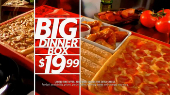 Pizza Hut Big Dinner Box TV Spot - Thumbnail 9