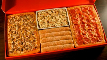 Pizza Hut Big Dinner Box TV Spot