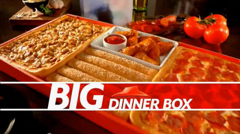 Pizza Hut Big Dinner Box TV Spot - Thumbnail 4