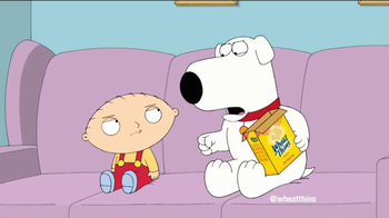 Wheat Thins TV Spot Featuring Family Guy - Thumbnail 5
