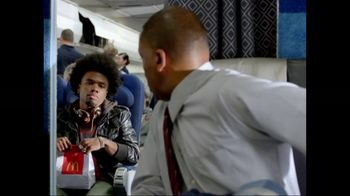 McDonald's Steak and Egg Burrito TV Spot, 'Airplane First Class' - 498 commercial airings