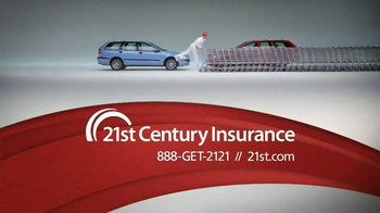 21st Century Insurance TV Spot, 'Falling Shopping Carts' - Thumbnail 5