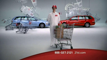 21st Century Insurance TV Spot, 'Falling Shopping Carts' - Thumbnail 2