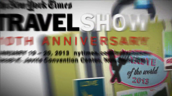 The New York Times Travel Show 10th Anniversary TV Spot  - Thumbnail 1