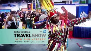 The New York Times Travel Show 10th Anniversary TV Spot  - Thumbnail 4